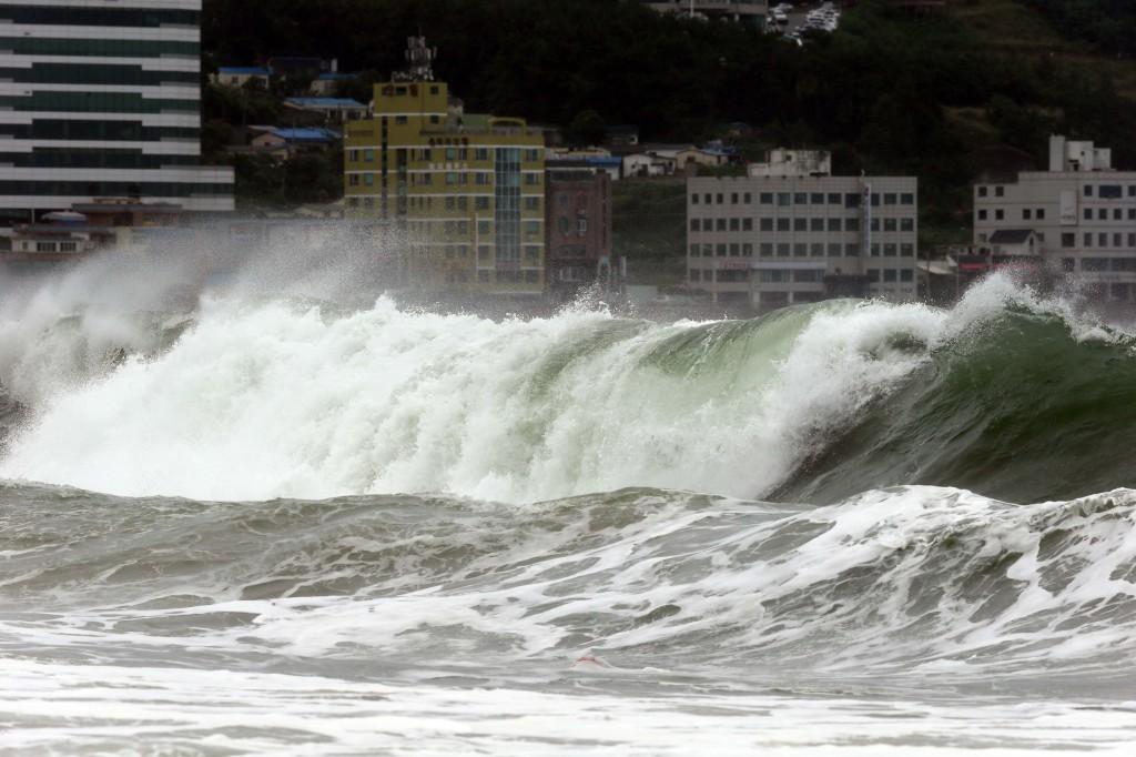 Image d'illustration pour Cyclone : tempête tropicale Nakri - pluies diluviennes en Corée et au Japon