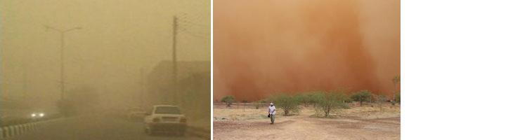 Image d'illustration pour Tempête de sable en Iran
