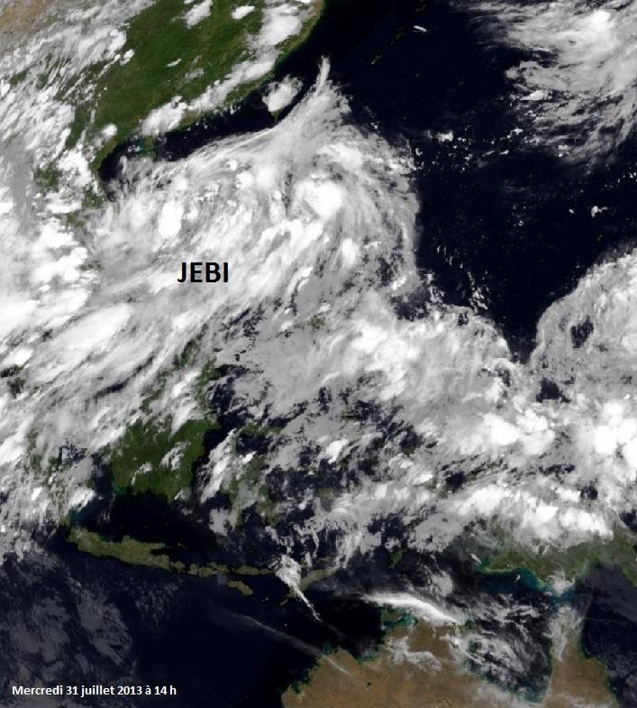 Image d'illustration pour Tempête tropicale Jebi (Chine - Vietnam)