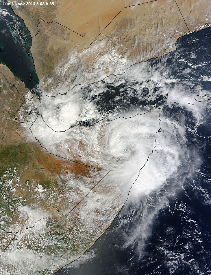 Image d'illustration pour Tempête tropicale meurtrière en Somalie