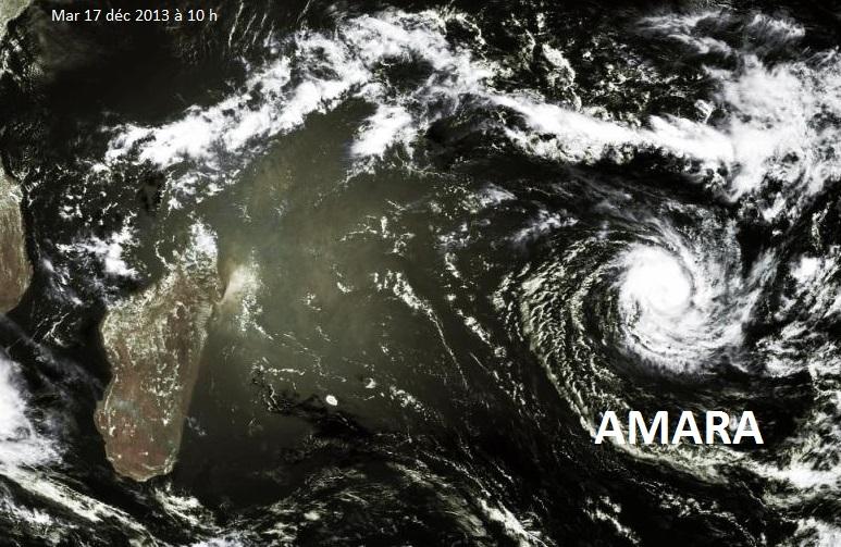 Image d'illustration pour Tempête tropicale Amara (Océan Indien)