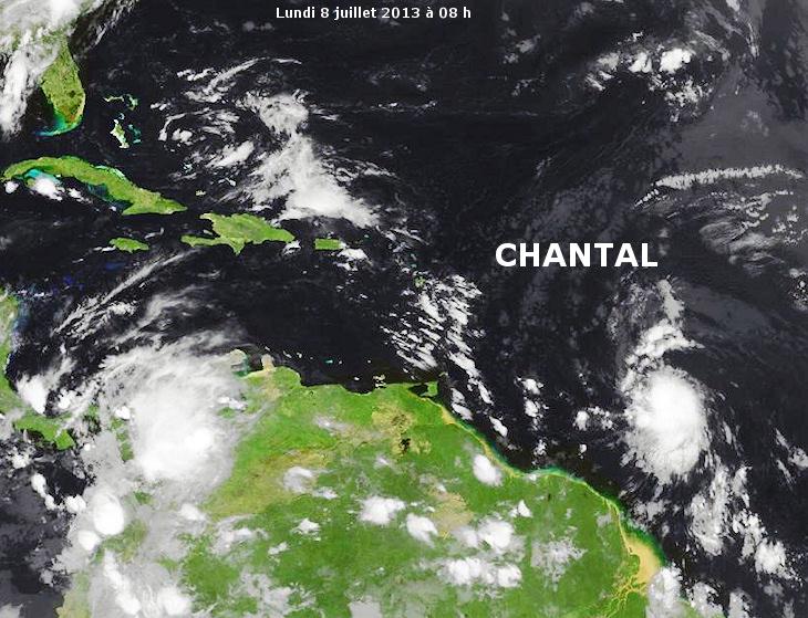 Image d'illustration pour Tempête tropicale Chantal (Antilles)