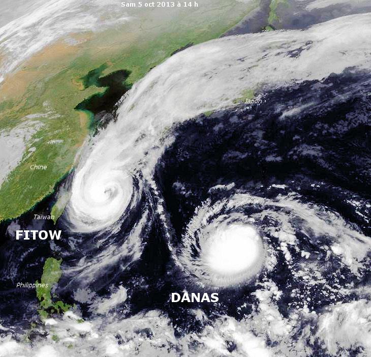 Image d'illustration pour Tempête tropicale Danas (Japon)