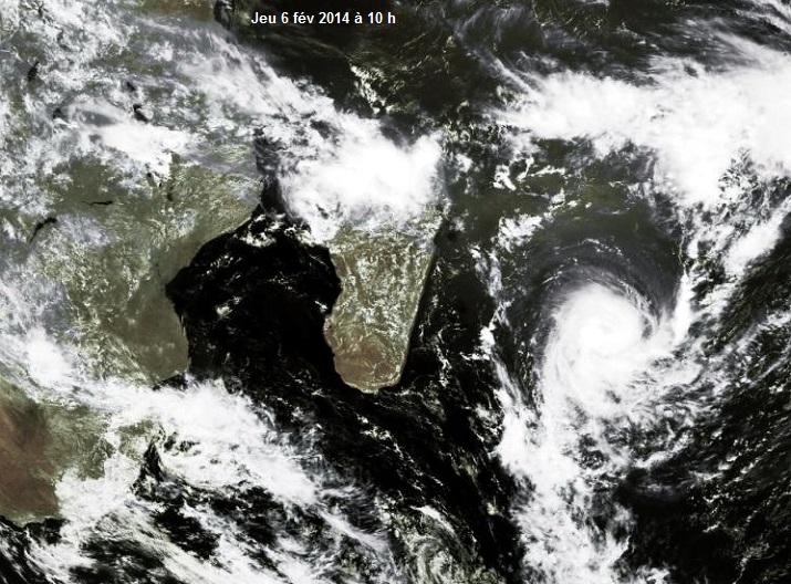 Image d'illustration pour Forte tempête tropicale Edilson (Ile Maurice)