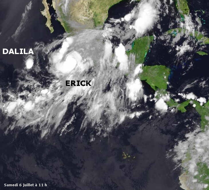 Image d'illustration pour Ouragan Erick (Mexique)