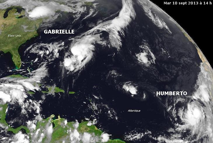 Image d'illustration pour Tempête tropicale Gabrielle (Bermudes - Atlantique)