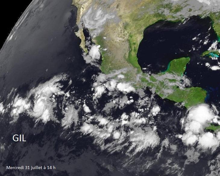 Image d'illustration pour Tempête tropicale - ouragan Gil (Pacifique)