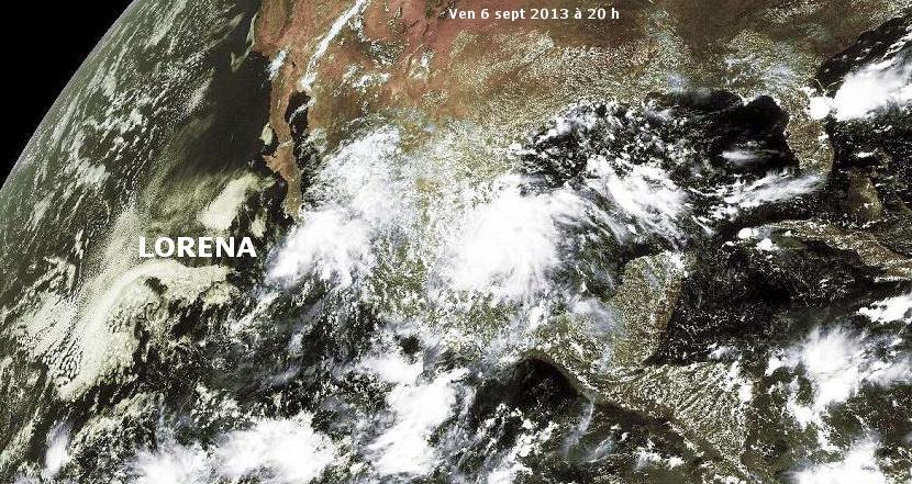 Image d'illustration pour Ex tempête tropicale Lorena (Mexique)