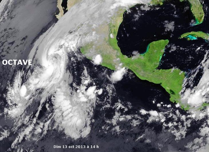 Image d'illustration pour Tempête tropicale Octave (Pacifique - Mexique)