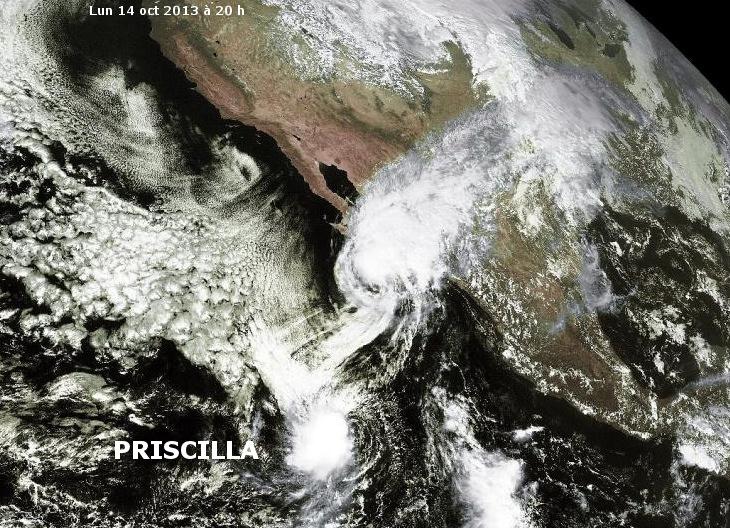 Image d'illustration pour Tempête tropicale Priscilla (Pacifique Est)