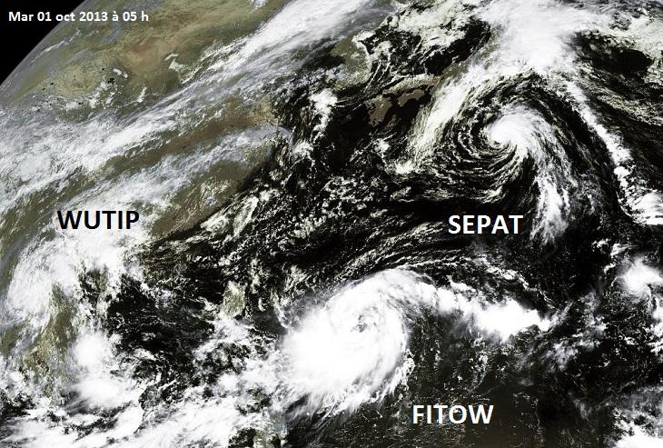 Image d'illustration pour Tempête tropicale Sepat (Pacifique - Japon)