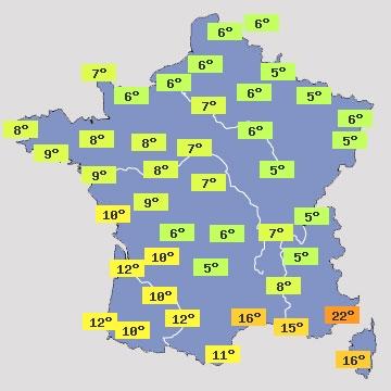 Image d'illustration pour Des températures estivales au coeur de l'hiver !