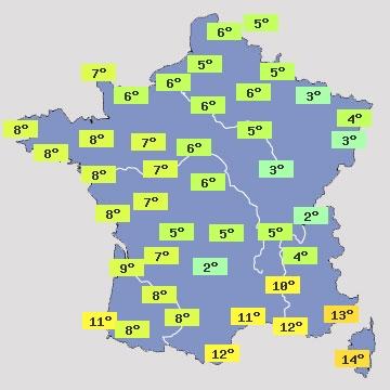 Image d'illustration pour Journée de douceur exceptionnelle en France