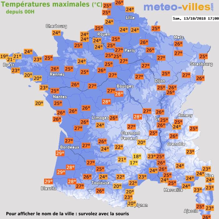 Image d'illustration pour Chaleur estivale remarquable pour une mi-octobre