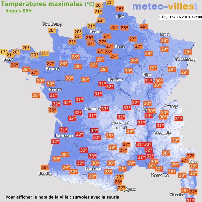 Image d'illustration pour Fortes chaleurs de la mi-septembre : l'été se prolonge