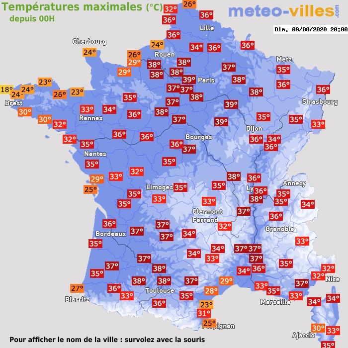 Image d'illustration pour Une canicule remarquable est en cours en France