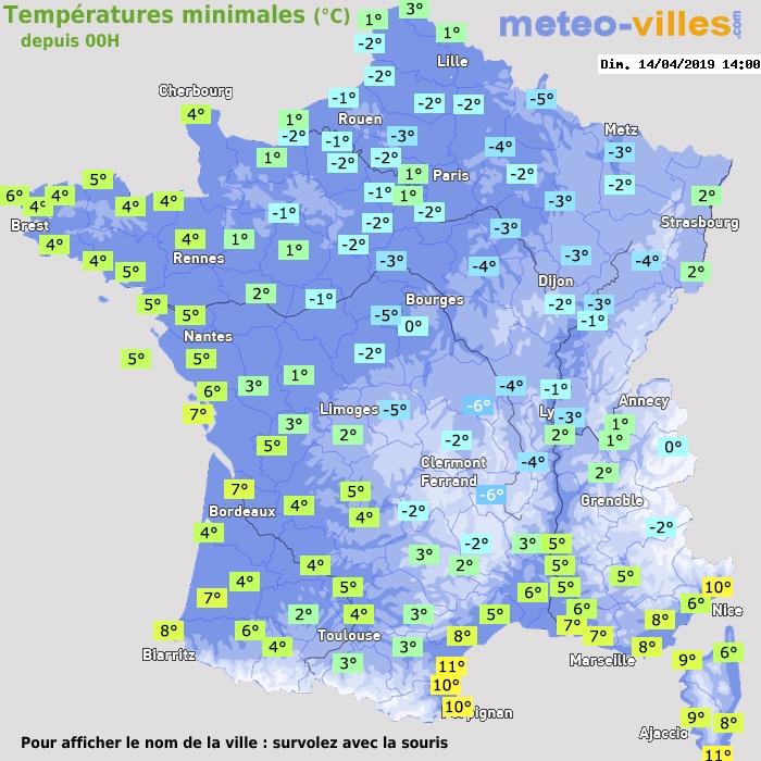Image d'illustration pour Nouveau coup de froid avec gelées en cette fin de semaine