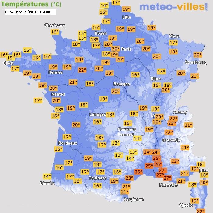 Image d'illustration pour Vers les premiers +30°C en France métropolitaine
