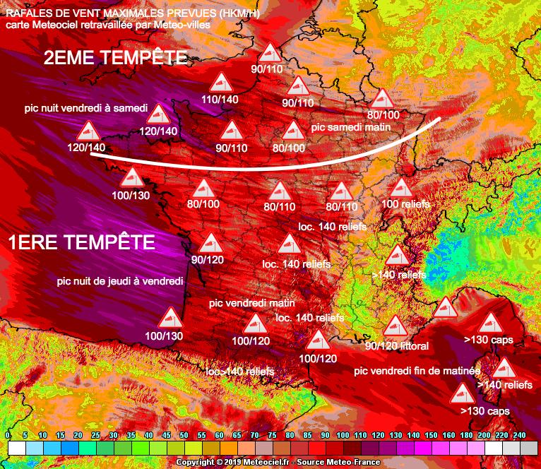 Image d'illustration pour VIGILANCE METEO : inondations, fortes pluies et tempêtes