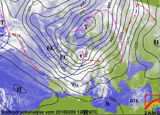 Image d'illustration pour Tempête et coup de vent Susanna mardi 9 février