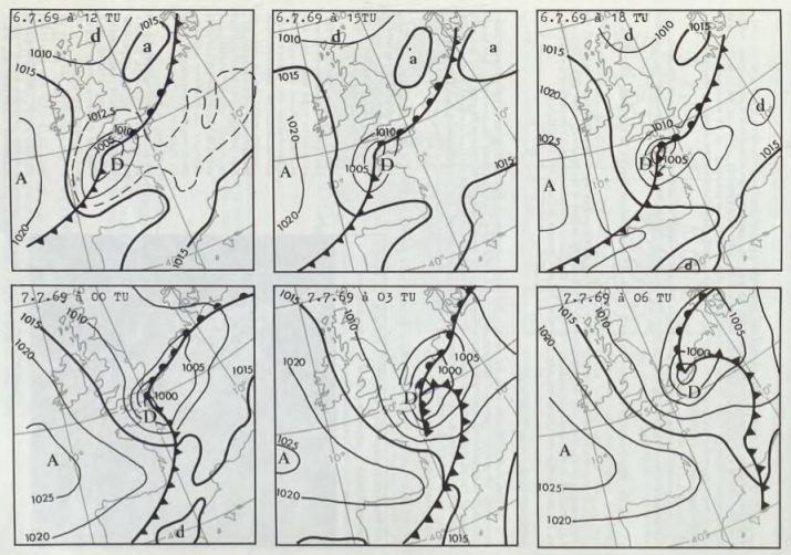 Image d'illustration pour Tempête meurtrière au coeur de l'été le 6 juillet 1969