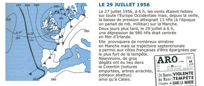 Image d'illustration pour Tempête meurtrière en plein été les 7 / 8 août 1948