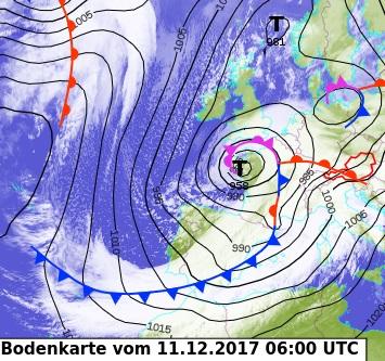 Image d'illustration pour Pluie, vent et neige : intempéries au passage de la tempête Ana