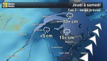 Image d'illustration pour Tempêtes (Nor'easter) entre Québec et Nord-Est des Etats-Unis