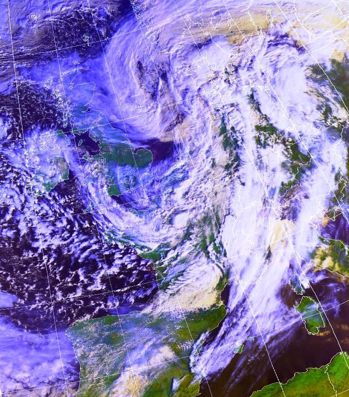 Image d'illustration pour Des dégâts sous les rafales de la tempête Freya