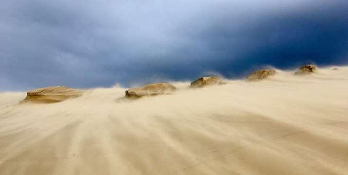Image d'illustration pour Neige et vent au passage de la tempête Gabriel