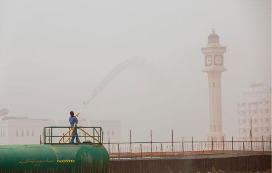 Image d'illustration pour Forte tempête de sable à Oman