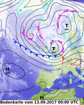 Image d'illustration pour Les premières tempêtes de l'automne