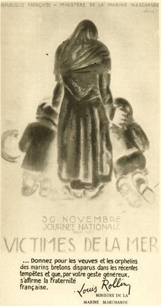 Image d'illustration pour Tempête d'équinoxe très meurtrière en mer le 19 septembre 1930