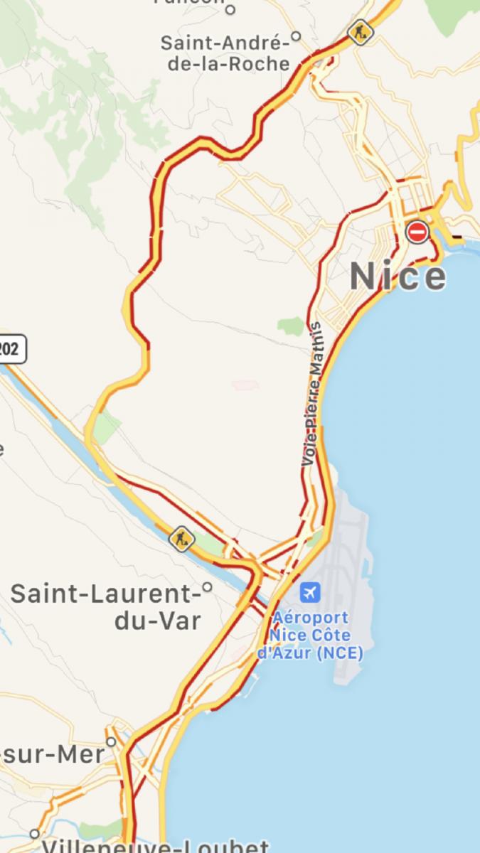 Image d'illustration pour Trombe et inondations à Nice jeudi 31 octobre 2019 au soir