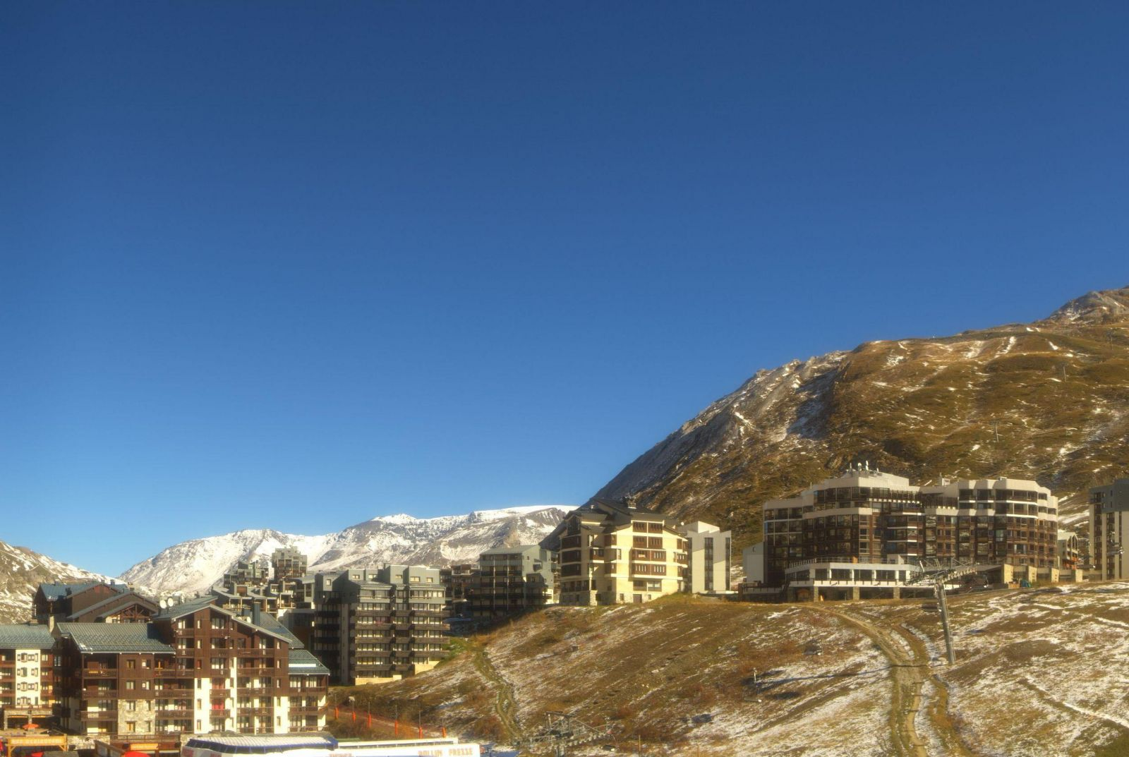 Soleil et redoux fonte des neiges dans les alpes 25 octobre - Office de tourisme de tignes ...