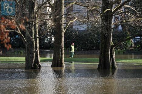Image d'illustration pour Suivi de la dépression Tini - inondations en Bretagne