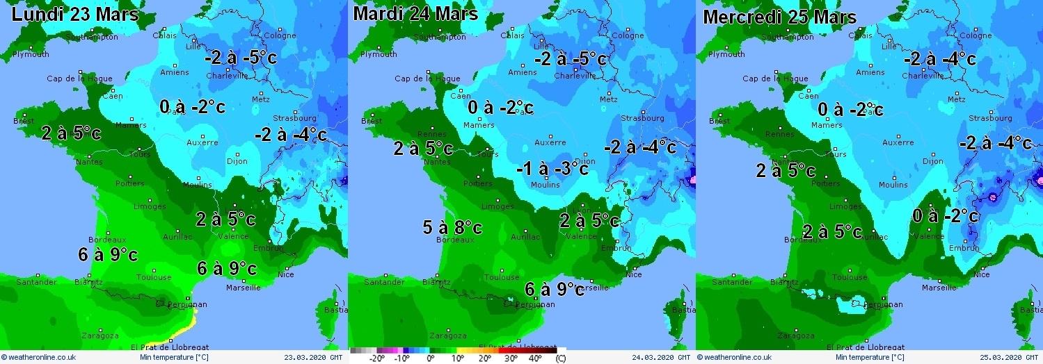 Image d'illustration pour Retour des gelées sur la moitié Nord à partir du week-end