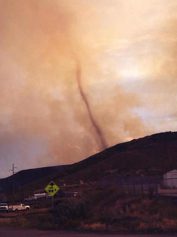 Image d'illustration pour Une tornade de feu sur l'Utah (Etats Unis)
