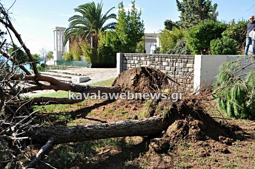 Image d'illustration pour Trombes et vents violents en Grèce