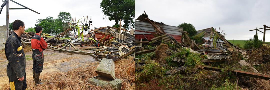 Image d'illustration pour Bretagne : de fortes pluies et des dégâts