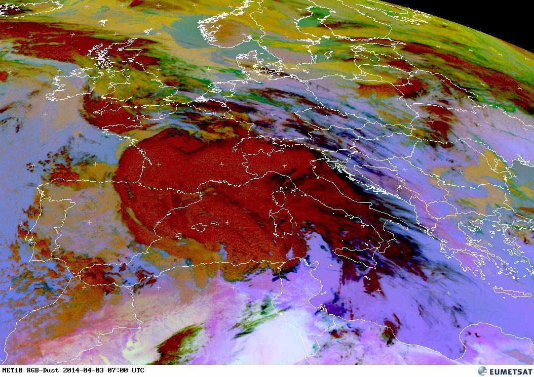 Image d'illustration pour Transports de sable d'Afrique vers l'Europe - Pollution à Londres