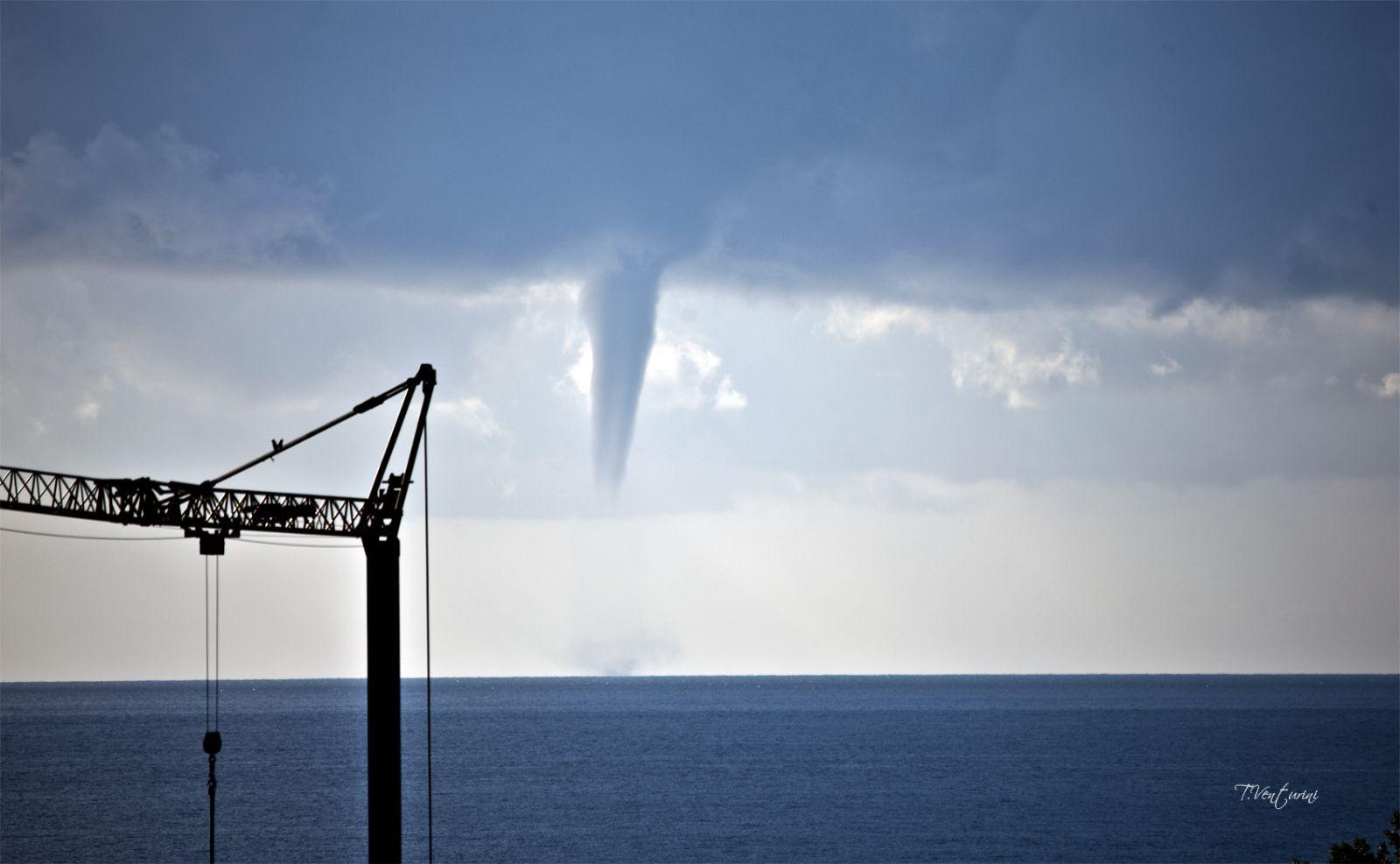 Image d'illustration pour Trombe marine en Corse - fréquents tubas sur la France