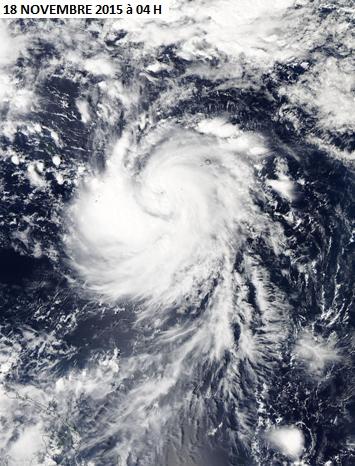 Image d'illustration pour El-Nino favorise les cyclones du Pacifique - Typhon In-Fa en Micronésie