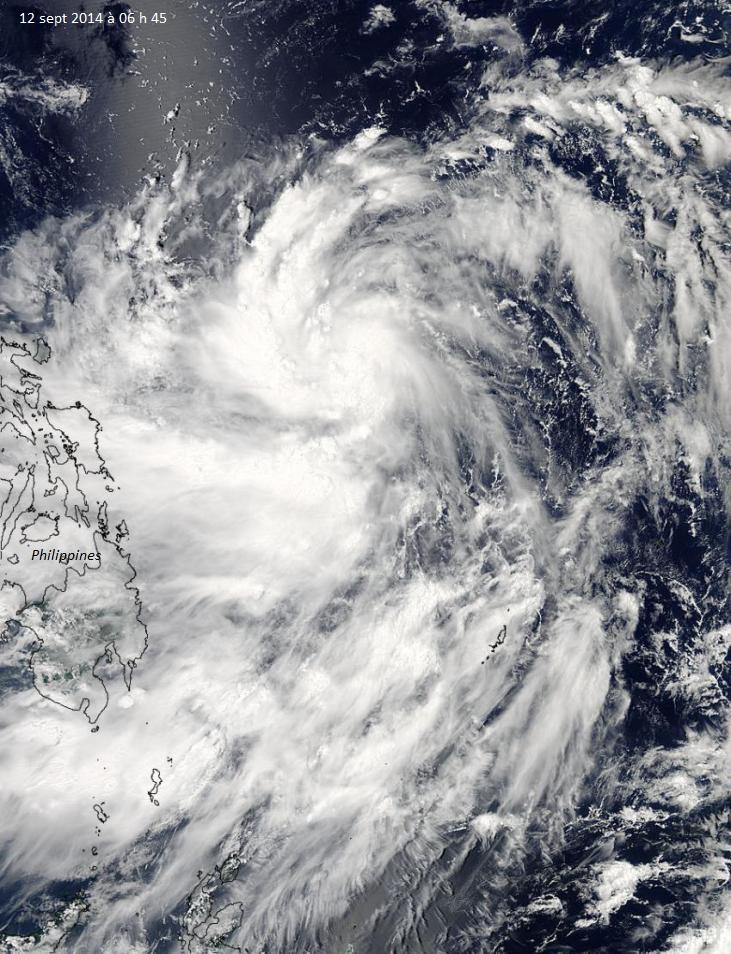 Image d'illustration pour Alerte cyclonique aux Philippines face au typhon Kalmaegi ou Luis