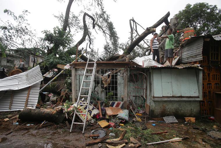 Image d'illustration pour Tempête, typhon et ouragan Koppu, Champi et Olaf sur le Pacifique