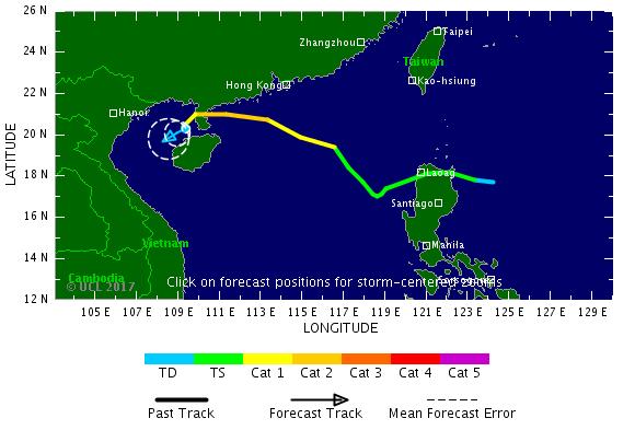 Image d'illustration pour Typhon Lan vers le Japon