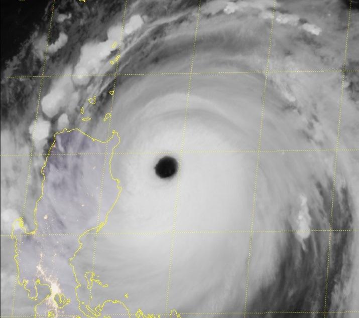 Image d'illustration pour Super typhon dévastateur Mangkhut entre Philippines & Chine