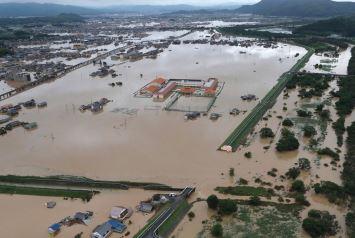 Image d'illustration pour Typhon Maria et inondations dramatiques au Japon