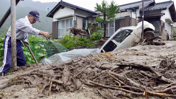 Image d'illustration pour Cyclone : typhon Neoguri (Pacifique - Japon - Okinawa)