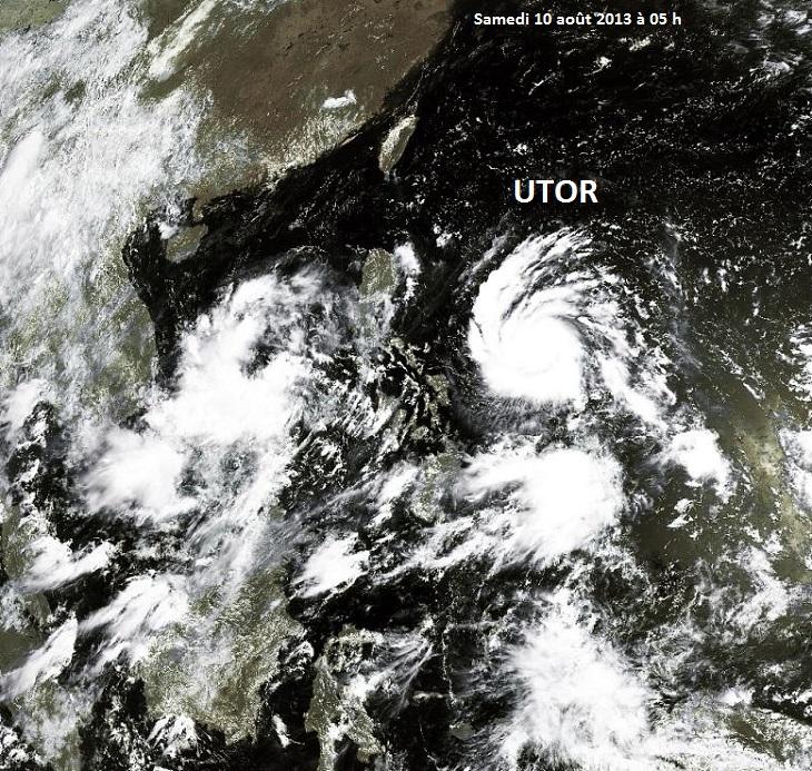 Image d'illustration pour Typhon Utor - Labuyo (Philippines)